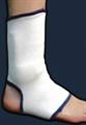 Picture of Compressive Ankle Support with Visco-elastic Insert (Small) aka Ankle Sleeve, Small Ankle Brace, Ankle Circulation Support, Clearance