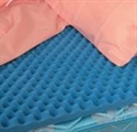 "Picture of Bed Pad Convoluted Hospital Bed Size (33""x72""x4"") aka Eggcrate Mattress Cover, Bed Cushion, Hospital Bed Pad, egg crate pad"