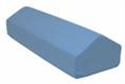 "Picture of Elevating Leg Rest 17"" x 10"" x 7"" (Removable Blue Cover) aka Leg Pillow, Bed Pillow, Elevation Pillow, Elevation Wedge, Bed Wedge"