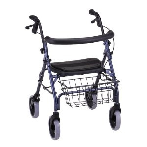 Picture of NOVA Rolling Walker Cruiser Deluxe with Basket aka Rollators, walkers, Waker with Seat, Platform Walker, four wheel walker