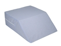 "Picture of Ortho Bed Wedge 10"" x 20"" x 30 1/2"" with Removable Cover (Blue) aka Ortho Knee Wedge, Elevating Leg Pillow, 10"" Knee Wedge"