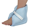 Picture of Comfort Heel Pillow Fiberfill with Hook and Loop Closure aka Heel Pad, Heel Protector, Sensitive Heel Pad, Pressure Soar Heel Pads (Pair) aka Foot Ulcer Treatment Pillows