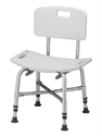 Picture of Nova Heavy Duty Bath Bench with Back (up to 500 lbs.) aka Heavy Duty Shower Chair, Bath Seat, Shower Seat