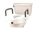 "Picture of Nova Raised Toilet Seat 5"" with Arms aka Toilet Riser, Bath Safety Items"