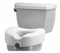 Picture of Nova Raised Toilet Seat with Front Locking Mechanism aka Toilet Riser, Bath Safety Items, Toilet Seat Riser