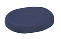 "Picture of Ring Cushion with Removable Navy Cover (18"") Molded Foam aka Donut Cushion, 3"" Seat Cushion, Wheelchair Cushion, Free Shipping, No Cost Shipping"