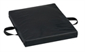 "Picture of Flotation Cushion Reversible (Soft Foam - Gel - Firm Foam)(16"" x 18"" x 2"")(Black Leatherette Cover) aka Wheelchair Cushion, 2"" Seat Cushion, Chair Pad, Soft Foam Cushion, DMI Reversible Gel Foam Comfort Seat Cushion, Clearance"