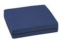 "Picture of Standard Polyfoam Wheelchair Cushion (16""x 18""x 4"")(Navy Cover) aka Seat Cushion, Stadium Cushion, 4"" wheelchair cushion, Free Shipping"