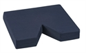 "Picture of Coccyx Seat Cushion (16"" x 18""x 3"")(Navy Cover) Tailbone Cushion, 3"" Seat Cushion, 3"" Coccyx Seat Cushion, V Shaped Cushion"