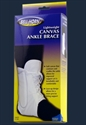 Picture of Lightweight Canvas Ankle Brace (Small - X-Large) aka Maximum Ankle Support, Stabilizing Brace