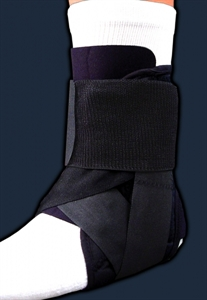 Picture of Stabilized Ankle Brace (X-Small) aka Ankle Support, Athletic Ankle Brace, Ankle Sprain Supoprt, Petite Ankle Support