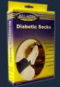 Picture of SoftStep Diabetic Socks (Medium)(White) Bell Horn Socks, Bell Horn Stockings, Diabetes Socks (mid-calf length)