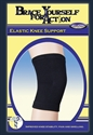 Picture of X-Large Elastic Knee Support aka Bell Horn Knee Sleeve, XL Knee Brace (Black)