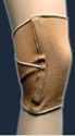 "Picture of Elastic 10"" Knee Sleeve with Criss Cross Support Back (Small) aka small knee brace, Clearance"