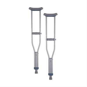 Picture of Aluminum Youth Crutches (Adjustable) aka Junior Crutches, Kids Crutches, Petite Crutches