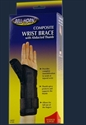 Picture of Composite Wrist Brace with Abducted Thumb (X-Small/Left) aka Left Arm Wrist Brace, abducted thumb brace, Trigger Thumb Splint