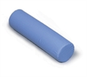 "Picture of Cervical Foam Roll (5"" x19"") with washable Blue Cover aka Neck Roll, Cervical Pillow, Cervical Roll, Knee Pillow, Contour Pillow, Foam Pillow"