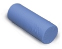 "Picture of Foam Cervical Roll 7"" x 19"" Blue Cover aka Neck Roll, Neck Pillow, 7"" Cervical Pillow, Clearance"