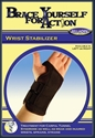 Picture of Brace Yourself for Action Wrist Stabilizer Universal (Left) aka Bell Horn Wrist Brace, Stabilizing Wrist Brace, Wrist Brace Maximum Support