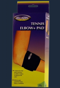 Picture of Bell Horn® Tennis Elbow Strap & Pad (Small/Medium) aka Tennis Elbow Brace, Padded Small Tennis Elbow Wrap