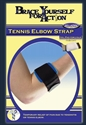 Picture of Brace Yourself For Action Tennis Elbow Strap (Universal) aka Tennis Elbow Brace, Tendonitis Brace, Golf Elbow Support, Forearm Strap