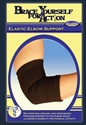 Picture of Brace Yourself For Action Elastic Elbow Support (Small) aka Bell Horn Elbow Brace, Athletic Elbow Wrap, Athletic Elbow Brace, Forearm Pain
