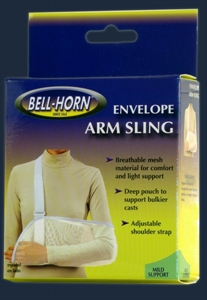 Picture of Envelope Arm Sling (Lightweight Mesh) (Small) Breathable Arm Sling, Small Shoulder Sling, Clearance