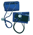 Picture of MatchMates® Sprague Rappaport-Type Combo Kit (Royal Blue) aka Mabis 01-360-211, nurse stethoscope kit, Medical Sphygmomanometer Kit