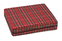 "Picture of Wheelchair Cushion High Density Foam (16"" x 18"" x 4"")(Plaid Cover) aka 4"" cushion, 4"" wheelchair cushion, 4"" Seat Cushion, 4 inch cushion, Free Shipping"
