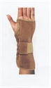 Picture of Suede Wrist Brace (Right/Medium) aka Carpal Tunnel Brace, Carpal Tunnel Treatment, Clearance