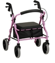 "Picture of Zoom Rolling Walker by Nova, User Height 4'10"" - 5'4"", Weight Cap. 300 lbs., Seat Height 18"" aka The Zoom 18 Walker, Rollators, Nova Walker"
