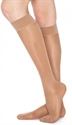 Picture of TheraLite Fashion Support Stockings 9-15 mmHg (Small)(Knee High - Closed Toe)(Beige) aka Compression Stockings, Bell Horn Stockings, Travel Socks