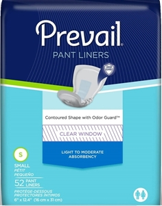 "Picture of Prevail® Pant Liner Small 6""x13.5"" (Pack of 52) aka Bladder Control Pad, Formerly Prevail Dribbler"