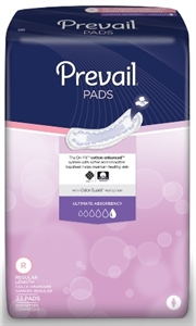 "Picture of Prevail® Bladder Control Pads Ultimate 16"" (Case of 132) aka Pantiliners, Incontinent Pads"