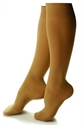 Picture of Bell Horn Stocking Anti Embolism 18 mmHg Closed-Toe Knee-High (Small-Short/Beige) Small Compression Stockings, Compression Socks, Petite Edema Leg Supports