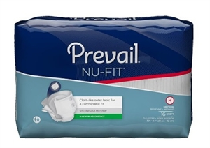 Picture of NU-Fit® Adult Briefs Medium (Pack of 16) aka Medium Adult Diapers, NuFit Briefs