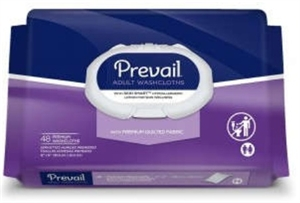 Picture of Prevail® Premium Adult Washcloths with Lotion (Case of 12) aka Adult Wipes, Prevail Washcloths