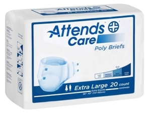 Picture of Attends® Adult Briefs (X-Large)(Pack of 20) aka Adult Diapers, Attends Briefs