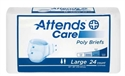 Picture of Attends® Adult Briefs (Large)(Case of 72) aka Large Adult Diapers, Large Attends Briefs
