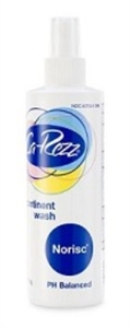Picture of Ca-Rezz No Risc® Wash (8 oz. Bottle) aka No Rinse Body Wash, ostomy care, Incontinet Wash, Carezz Wash, Formerly FN10308, Norisc Wash see also Peri Wash