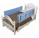 Picture of Protective Bed Rail Pads Vinyl aka Bedrails, Bed Rail Cushion, Free Shipping