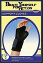 Picture of Brace Yourself For Action Wrist Support Glove (Pair)(Medium) aka Arthritis Gloves, Carpal Tunnel Treatment, Clearance