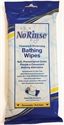 Picture of No Rinse Bathing Wipes One Complete Bath (Case of 24)