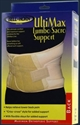 Picture of UltiMax Lumbo Sacro Support (XXX-Large) aka Back Brace, Back Support, 3XL Lumbar Support, Clearance Back Support