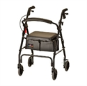 Picture of Nova Rolling Walker GetGo Classic (Under Seat Pouch Included) aka walker with wheels, rollator