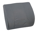 "Picture of Memory Foam Lumbar Cushion with Grey Cover (14"" x 13"") aka Back Cushion, DMI 555-7921-0300, Lumbar Support, Chair Cushion, Back Pillow, Car Lumbar Support Cushion"