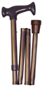 Picture of Adjustable Folding Cane, Nova Cane, Travel Cane, Bronze