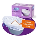 Picture of CareBag Commode Liners, Disposable Commode Bags (box of 20 liners), Commode Accessories, Commode Bucket Liner