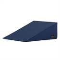 "Picture of 10"" Bed Wedge (Navy Blue Cover) aka Hernia Pillow, Reflux Pillow, Lift pillow for snoring, Slope Wedge, Slope Pillow, Positioning Pillow, Body Positioner"
