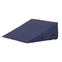 "Picture of Nova Folding Bed Wedge 12"" with Removable Cover (Navy Blue Cover) aka Reflux Pillow, Gradual Slope Pillow, Hiatal Hernia Pillow, 12"" Wedge Pillow"